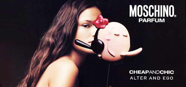 Perfume Chic and Chic de Moschino
