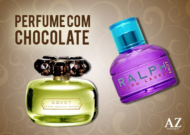 Perfumes com o toque do chocolate
