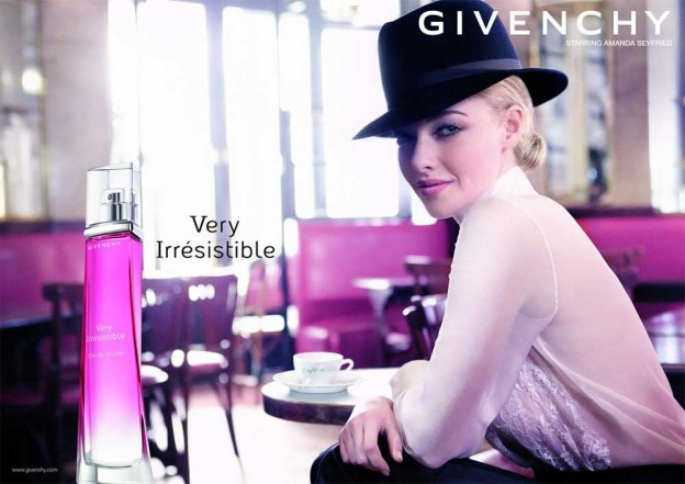 nova garota-propaganda do perfume Very Irresistible da Givenchy